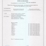 Сертификат на нож Характерник приложение