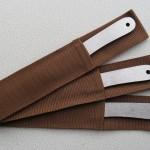 Три ножа Характерник в ножнах